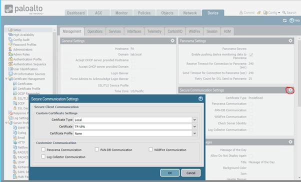 Install SSL certificate on Palo Alto Networks or Cisco ASA Firewalls